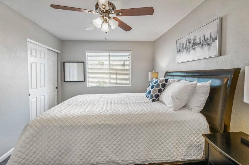 side view bedroom