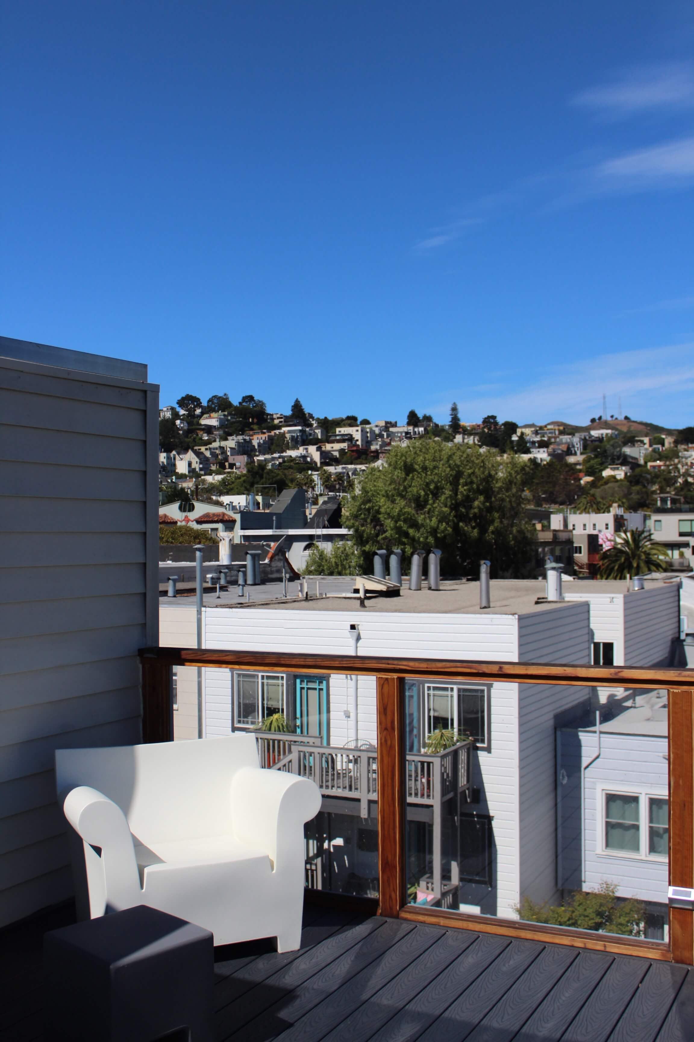 Roof deck, off of bdrm #2