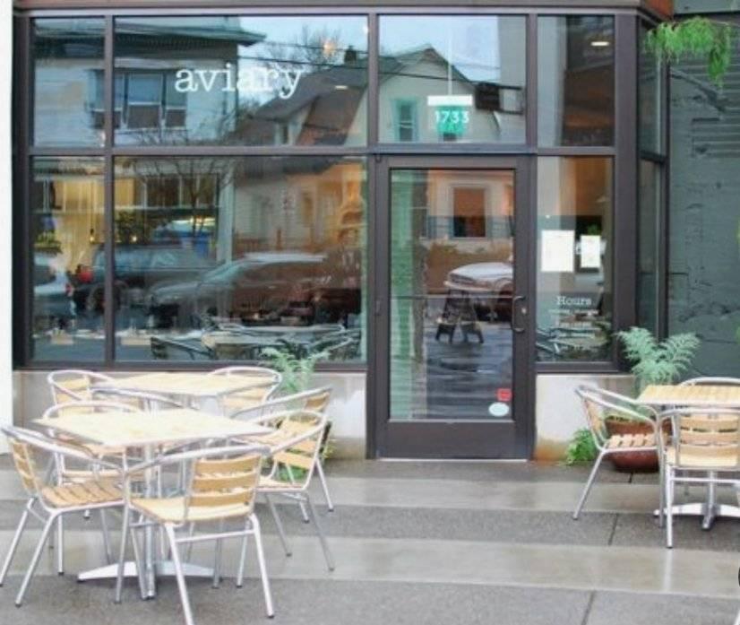 Aviary Restaurant - popular New American/Asian Fusion
