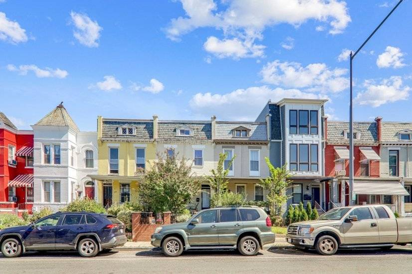Our iconic DC row house!