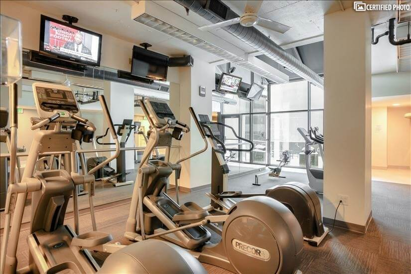 Health Club - Cardio Area