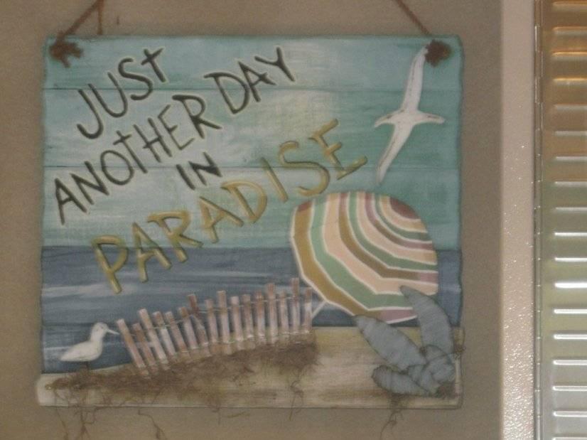 Paradise it is!