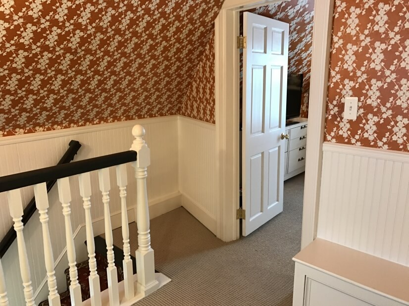 Entry to Master Bedroom and Study
