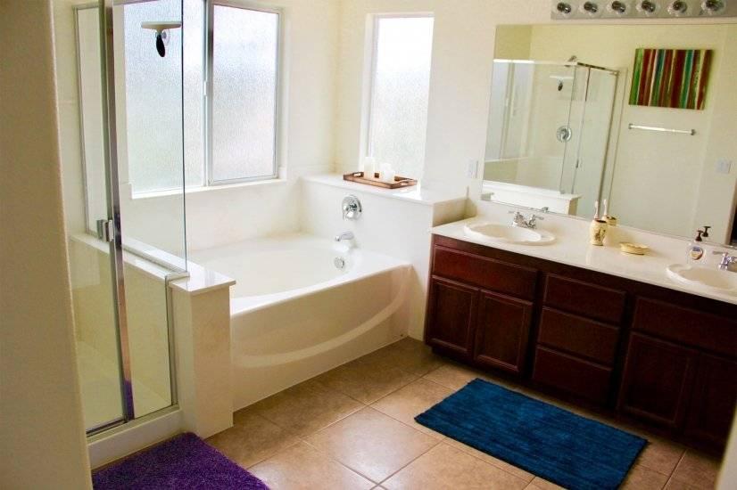 On-suite master bathroom