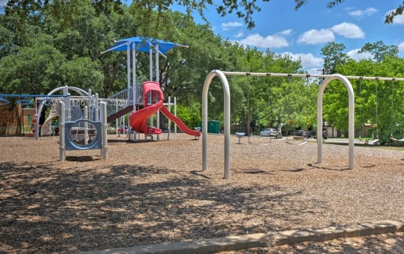 Playground and Zilker school and park