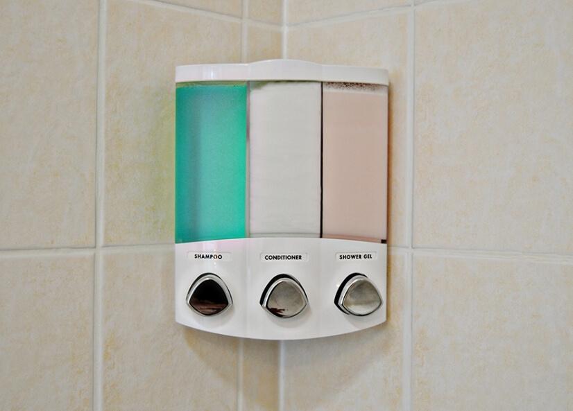 Body & Bath products in both bathrooms