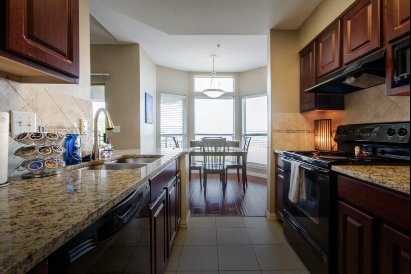 Fully Equipped Kitchen With Everything You Ne