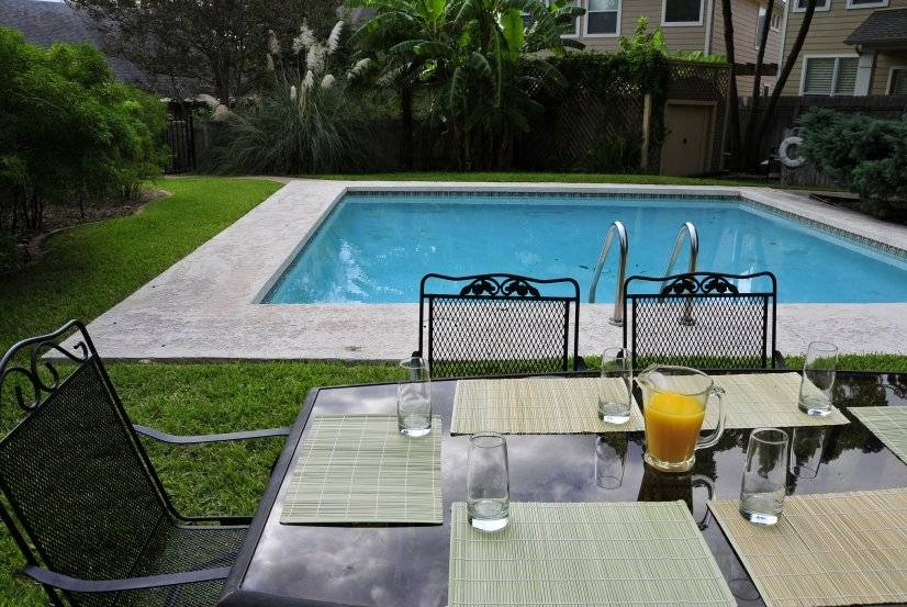 Have Breakfast by the pool