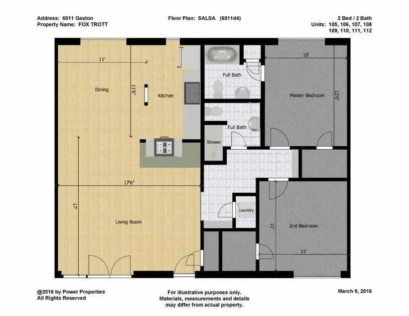 Salsa Floor Plan