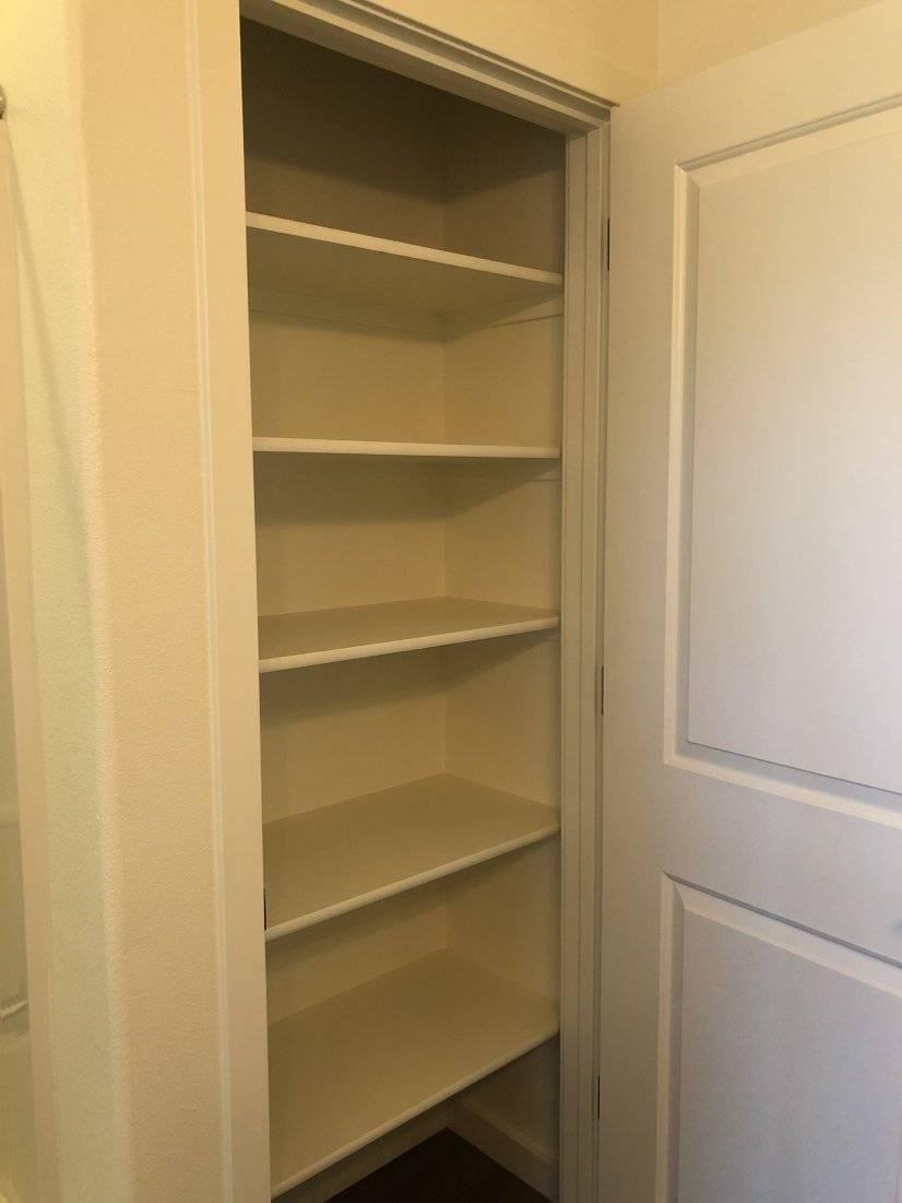 Tons of closet space!