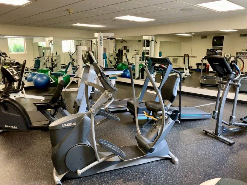 Gym with 24-hour access