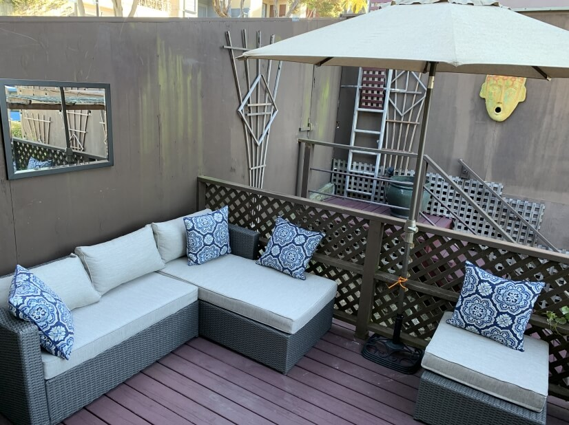 Chase Patio Furniture included