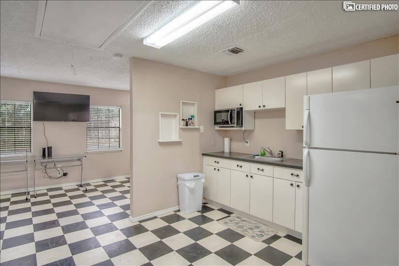 open kitchenette concept