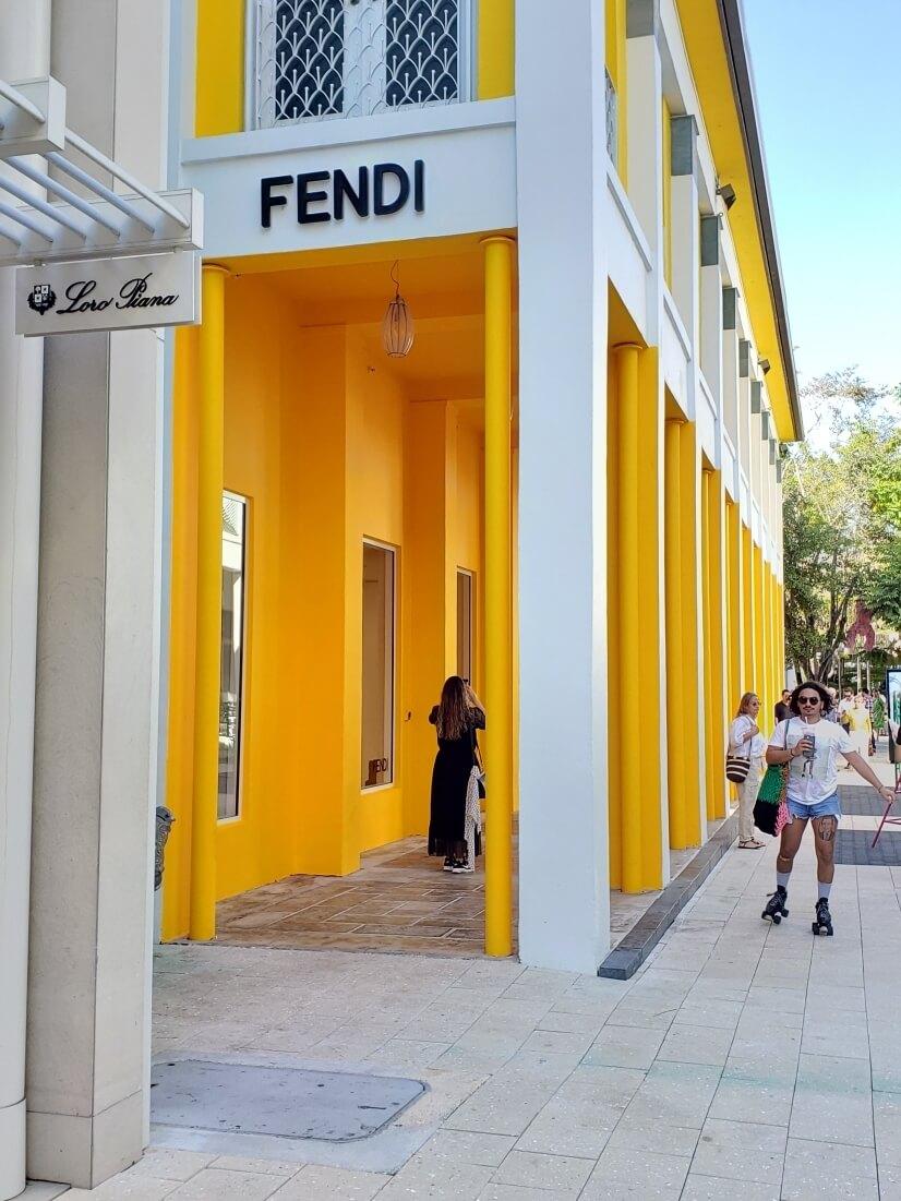 Fendi @ Miami Design District - 15 Min Walk