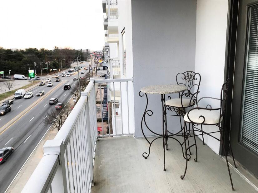 Walk-out Balcony