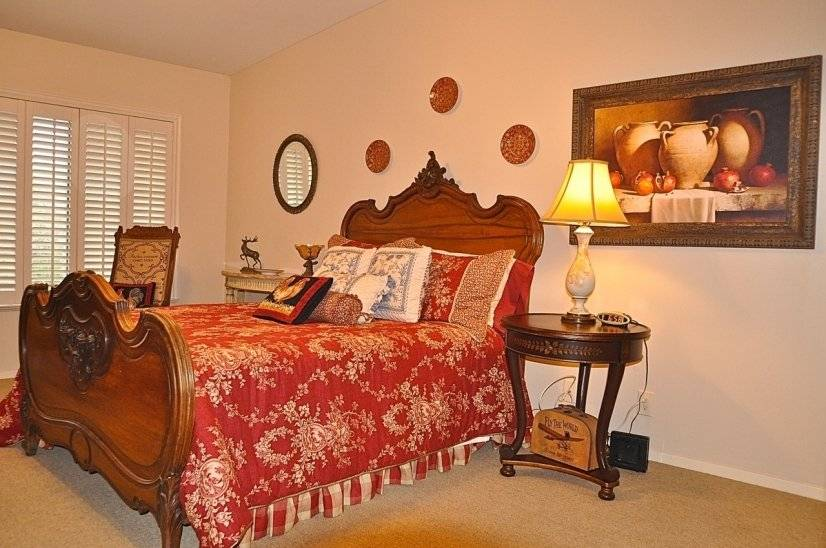 French Country Antique Bedroom