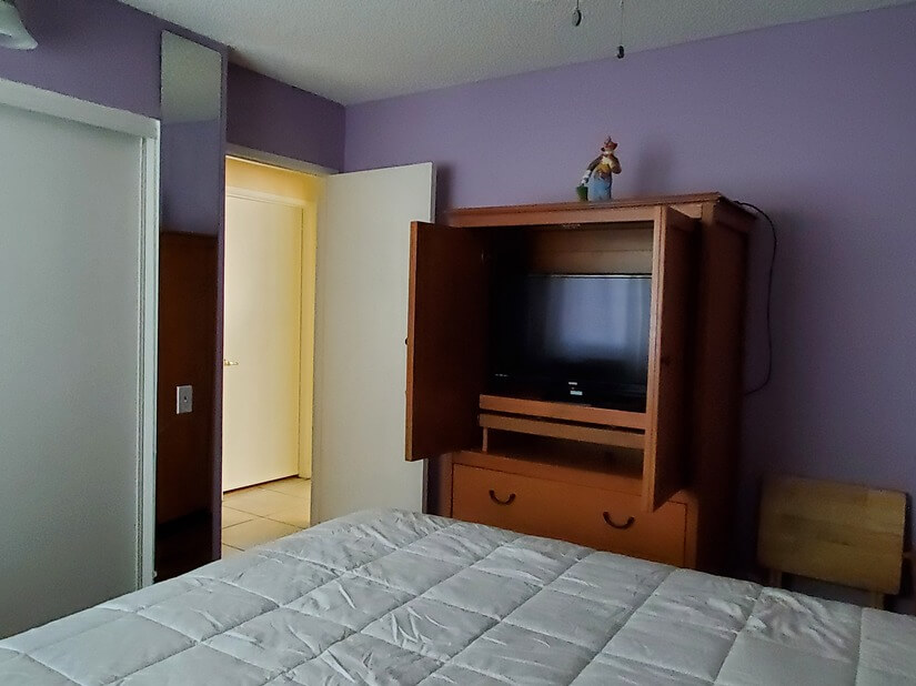 TV in Lilac Room