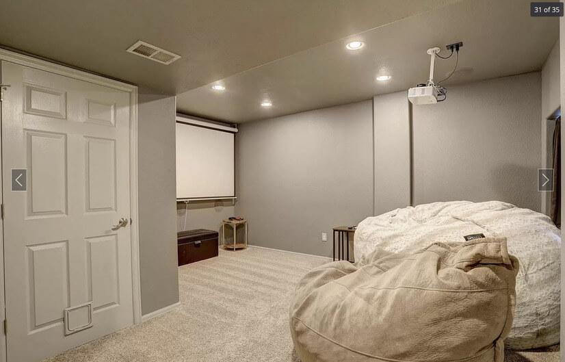 basement and mechanical room