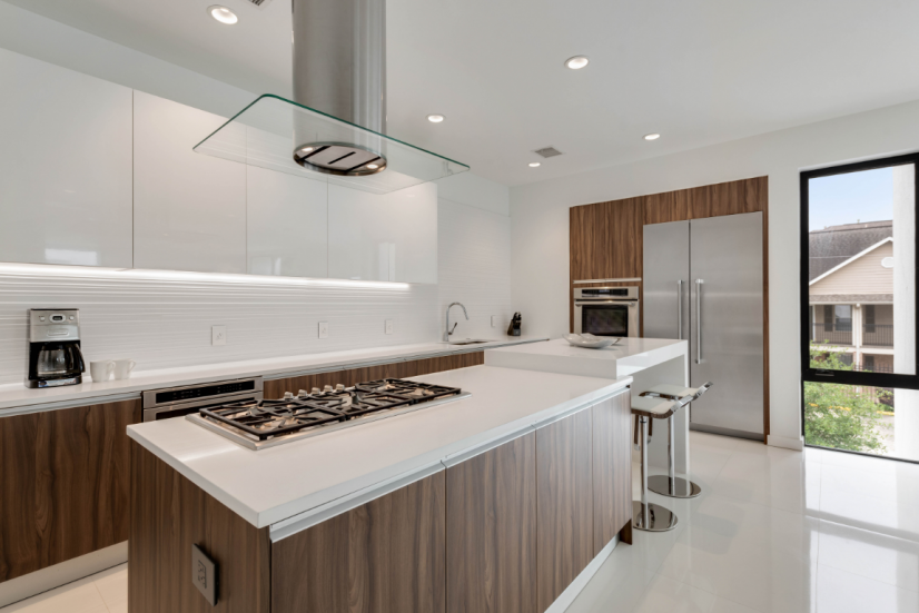 Kitchen is top line Thermador and fully equipped