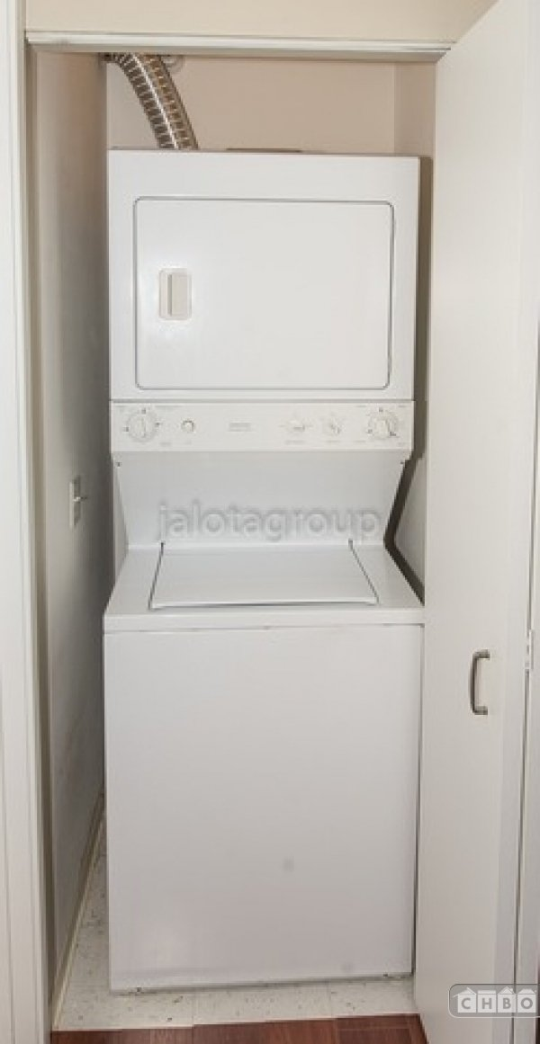 Stacking Washer & Dryer