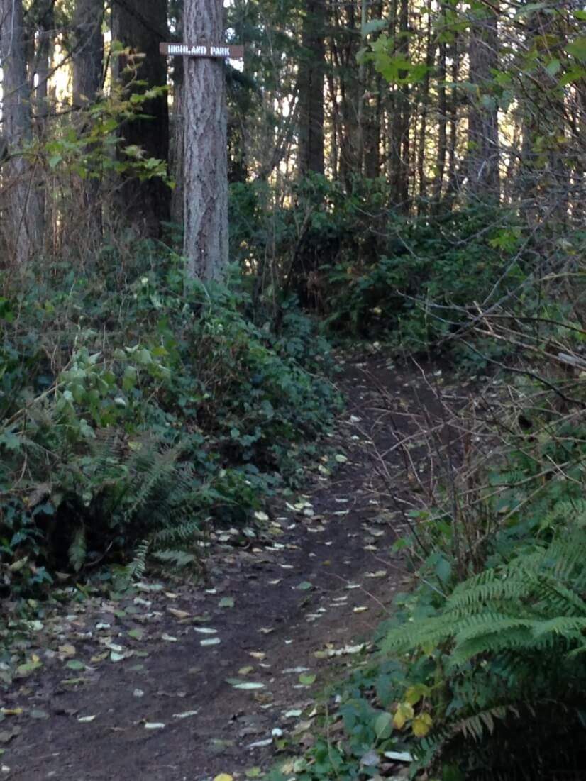State Park trails two blocks away