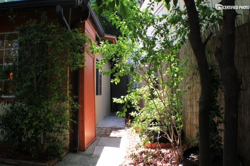 Private Walkway to Back Patio