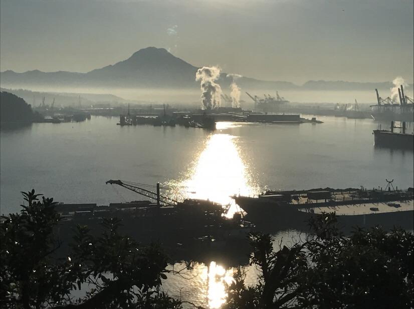 Tacoma Harbor and Mt Rainier