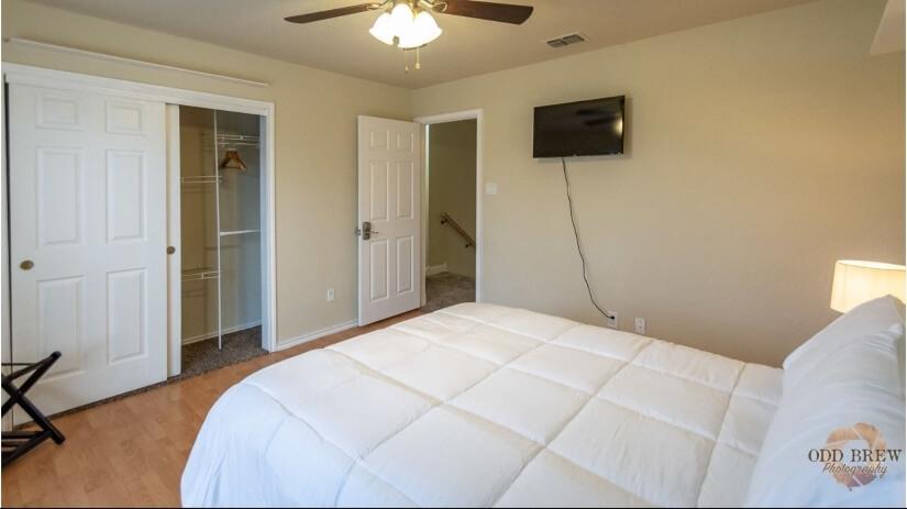Opposite view of 2nd bedroom