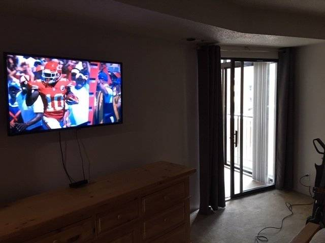 New Master Bedroom TV