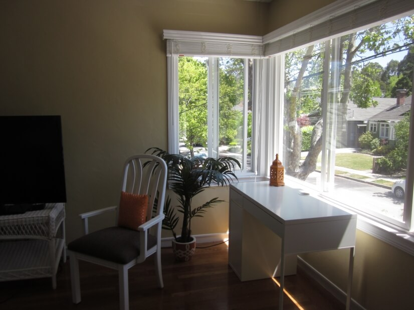 image 2 furnished 1 bedroom Apartment for rent in Burlingame, San Mateo (Peninsula)