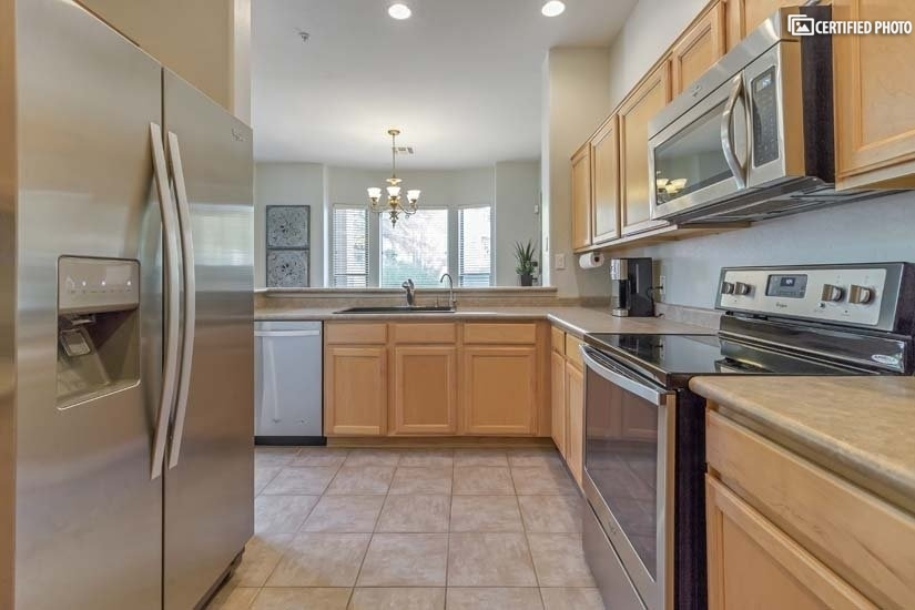 Stainless Steel appliances in the kitchen