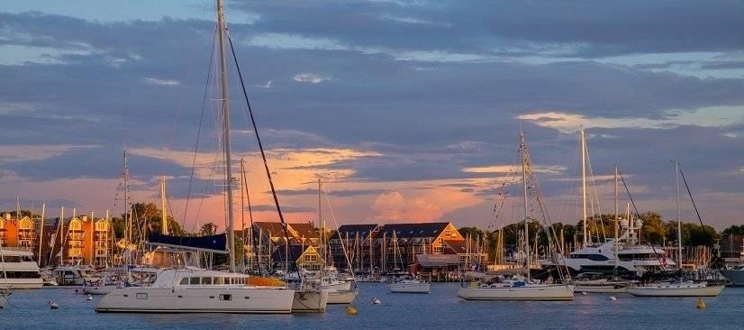 Picturesque Annapolis Harbor