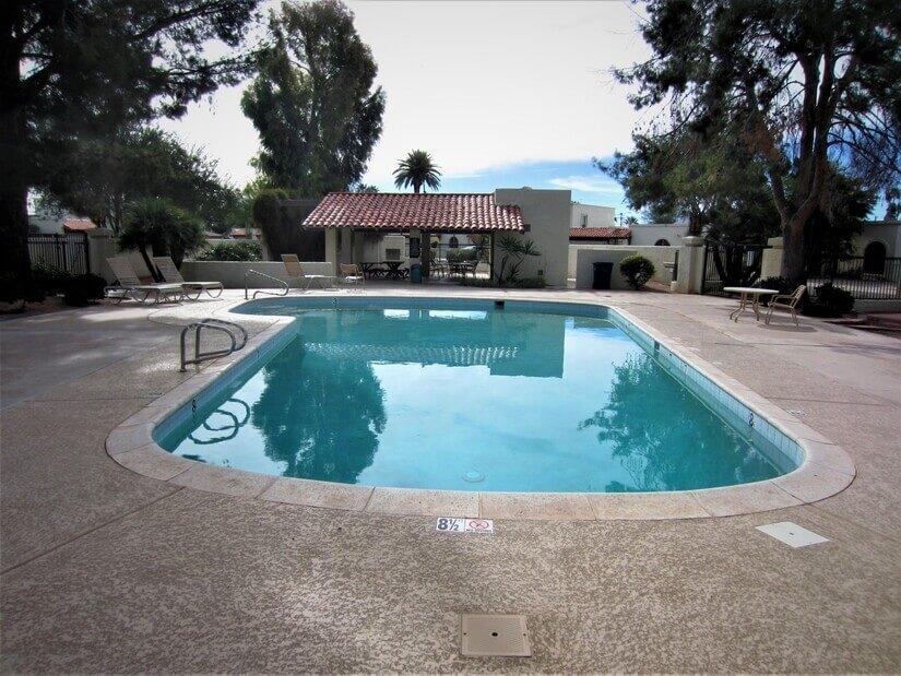 Pool and Ramada