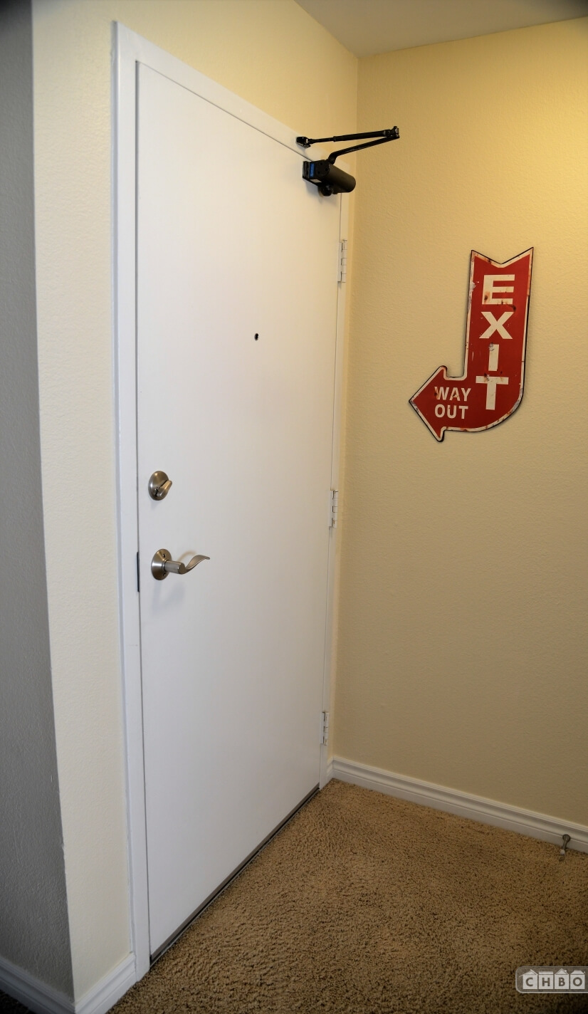 Exit Here!
