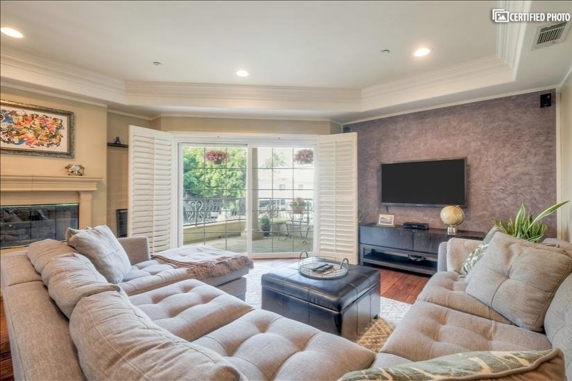 Living Room 1 w/Patio View