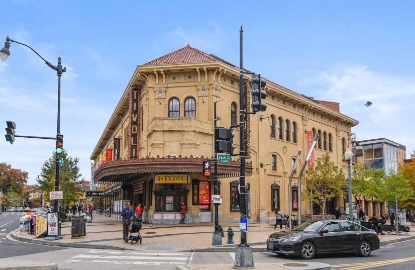 The historic Tivoli Theater