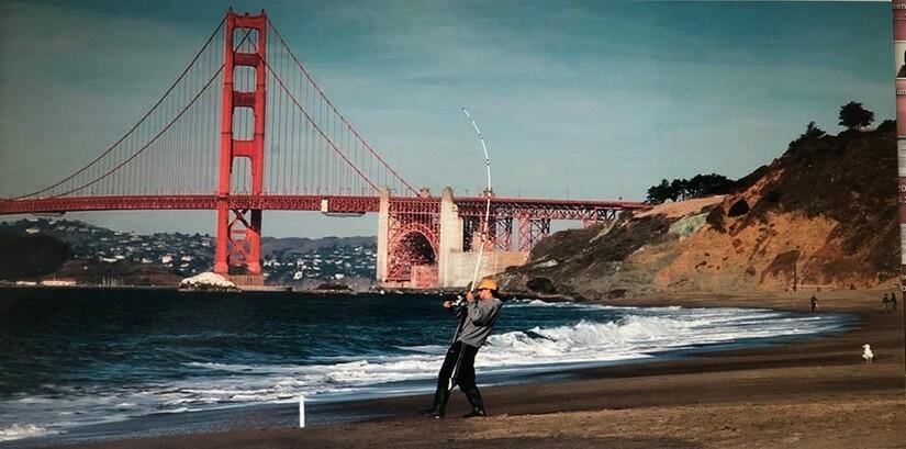 hike and peekaboo the Golden Gate Bridge