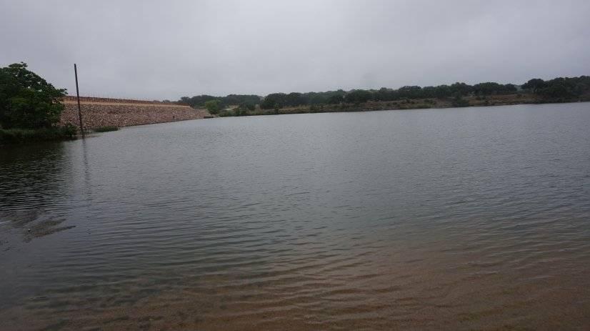 Brushy lake - few hundred yards from the property