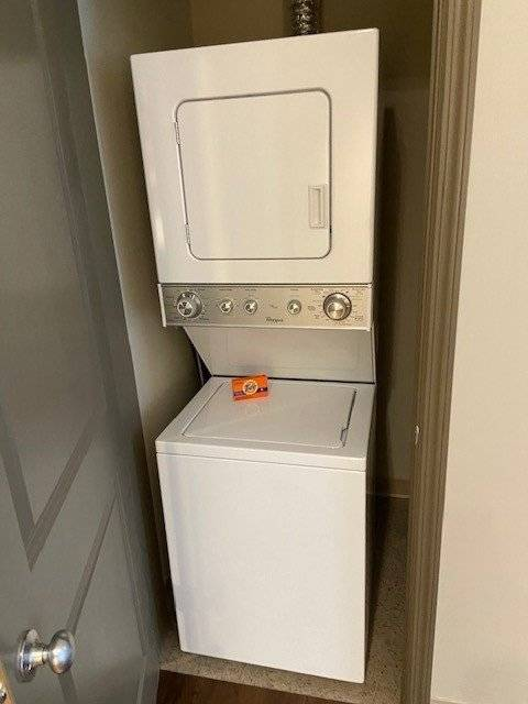 Washer and dryer IN unit!