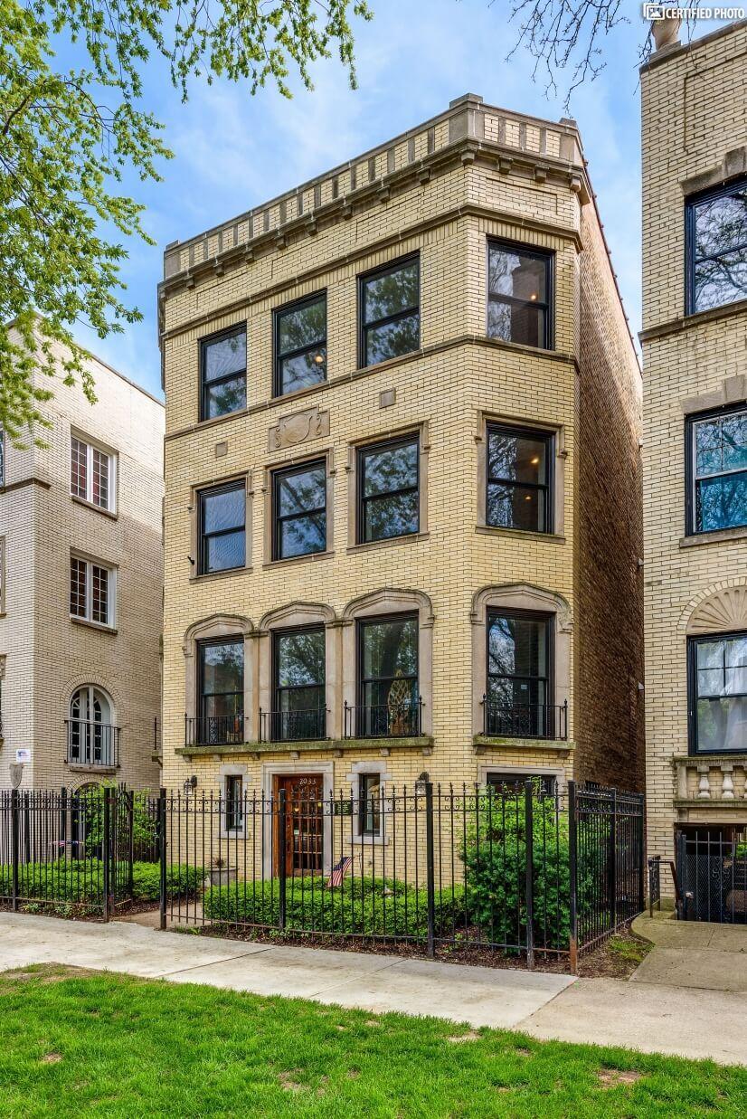 Vintage Blonde brick 4 flat