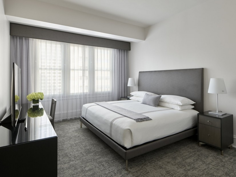 Platinum Two-bedroom Primary bedroom
