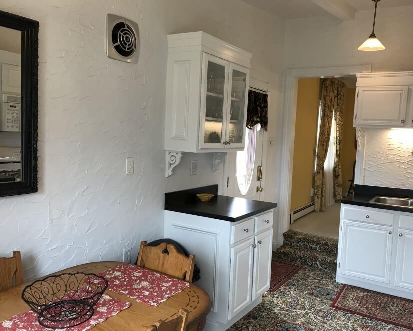 Kitchen at side door