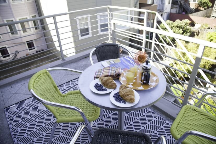 image 5 furnished 2 bedroom Townhouse for rent in Richmond District, San Francisco