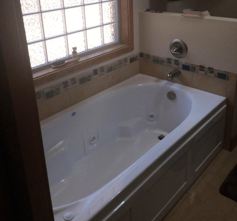 Oversized Jetted Tub Master Bath