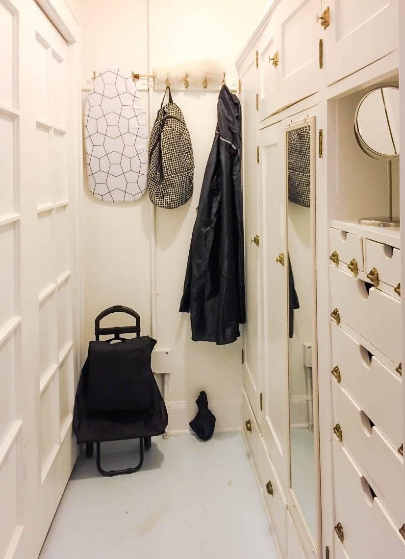 Walk-in closet with lots of original storage