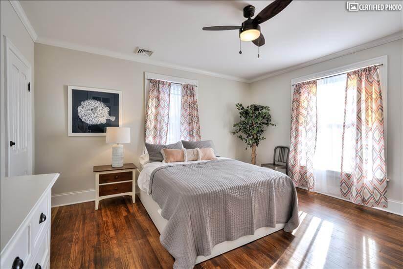 2nd Floor Bedroom from Hallway (Queen)