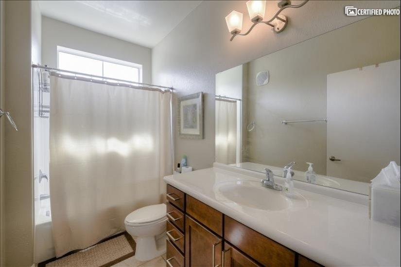 Main Bath Shower & Tub