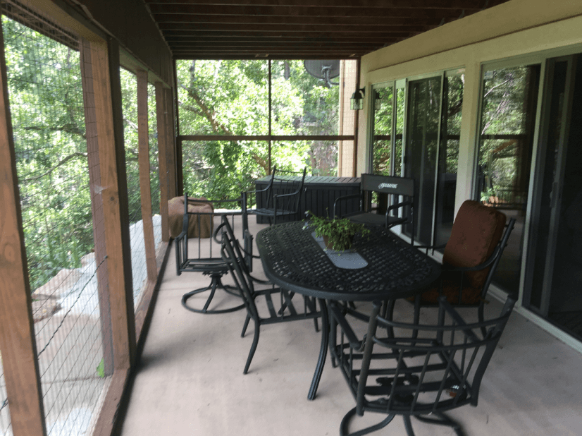 Lower Level Enclosed Porch