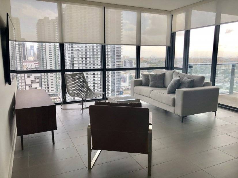 image 2 furnished 2 bedroom Townhouse for rent in Downtown, Miami Area