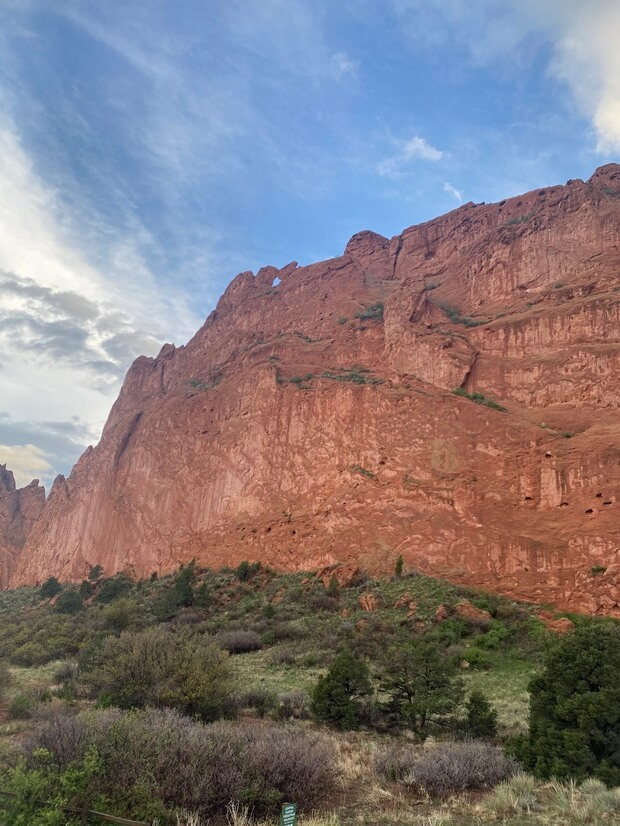 Garden of the Gods is so majestic and a short